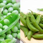 グリーンピースとスナップエンドウの違い(見分け方)は?えんどう豆も
